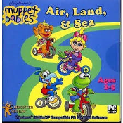 Muppet Babies. Air, Land, and Sea. UPC: 671196039596. Simple activities for children in preschool and kindergarden. Skills developed: Vocabulary, concentration and confidence, visual auditory skills, CD-ROM.
