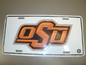 OSU License Plate. Used.