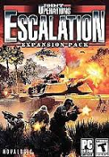 Joint Operations Escalation Expansion Pack. 72308. 020626723084. Online Game. New. Retail Package. Rated T. PC CD ROM. Novalogic. 150 Player Battlefields.