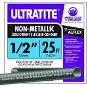 "Southwire 55094221 Ultratite 20', 1/2"" Non-Metallic Conduit. 032886045998."