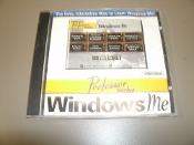 Professor Teaches Windows ME. New. PRF-WME. CD-ROM. Cover is cracked.