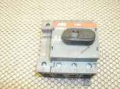 ABB OT63F3 Switch-Disconnector. Used. Front operated, base mounted, DIN-rail mountable. 4 Pole. L1433. 68604 3 2.