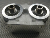 Detroit Diesel Filter Base Assembly. Part no. 23507880. Casting no. 8925877. For 149 series engines. 8925879. 19274. New.