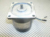 OM Oriental Motor 3IK15GK-A2 Induction Motor 15W 100V 50/60Hz 0.4A. 1250/1550rpm. Used.