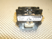 Square D 8910DP12V02 Contactor; Definite Purpose. New. Contactor; Definite Purpose; DPST-NO; 20A; Ctrl-V 120AC; 22 lb-in.