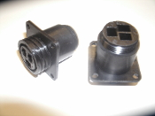 AMP 206425-1 CPC Series 3, Flang Mount Receptacle. New. 3 Contacts. Size 17: Panel Mount.