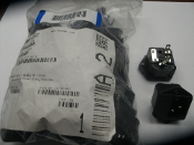 Kobiconn 161-0717-1-187-E. AC Power Entry Modules. Inlet Snap-In Fused. Black. Bag of 20. New. Mouser Electronics.