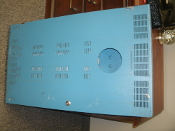 Leviton R24BD EZ-MAX Plus 24 Relay Panel Box. Z-Max. Used. No internal relays, power supply or keys. Empty Box. Blue.