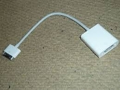 Apple A1368 Mini DisplayPort to VGA Adapter MB572Z/B. Connect your Mac to a standard analog monitor, projector, or LCD that uses a VGA connector or cable.