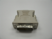 XFX Force 79-1MA000010-00-D, SL DVI Male to VGA 15 Pin Female Connector. New. 778656052871.