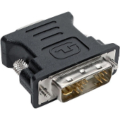 DVI-A (M) to 15-Pin VGA (F) Adapter. DVI-DVIAD, New. This DVI-A Male to 15 PIN VGA Adapter Female is made for graphics cards with DVI-A