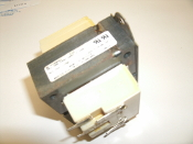 Basler BE30089001 Transformer. P19, PRI 208-240V, 60Hz 3/160C. SEC 25V 1/40C. Class 2 XFMR 0411. Working Pull. Basler Electric.