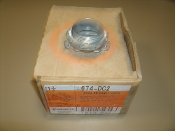 "Bridgeport 674-DC2 Oval SE Cable Conn. Box or 10. New. 1 1/4"" 674-DC. 30781747156748."
