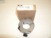 "Gates 7858-1702 Taper-Lock Bushing, 1610 Series, 1.125"" Bore, Gates 78581702, Finished with Keyway, TL160X1, 1 1/8"" Bushing. 07205308837. 1/4"" x 1/8"" Keyway, Cast Iron. New. OEM Box."