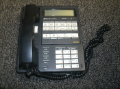 Sprint 476492 Phone, 110055FEA-H-Bus. Used. Working Pull. 2 Line Phone. Charcoal.