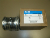 "667, Eaton Crouse-Hinds 667 Compession Type Coupling, 3"", New. For Thinwall Conduit (EMT). Electical MetallicTubing Fitting. 30784564106675."