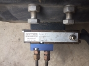 Soldo NV62L Controls. Used. www.soldo.net, Made in Italy. Normal Bypass. Max Pressure 8 Bar.