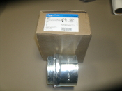 "Eaton 457 Crouse-Hinds 3"" Type Screw Box Connector for EMT, IMC and Rigid Conduit. C-H 3"". 784564104571, 00784564104571. 30784564104572."