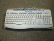 Micro Innovations KB650I 124-Key Multimedia Keyboard. New. CH92070215. 013070215. Beige profile, PS/2 interface, 124-key Hot Keys, Spill proof design, Num Lock LED, Caps Lock LED, Scroll Lock LED.