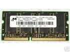 Micron PC100 128MB 100Mhz 144Pin SODIMM SDRAM. MT8LSDT1664HG-10EB1. IBM FRU P/N: 20L0265. PC100-222-620. CL2. 8X16. Refurbished. Pulled from a working laptop.