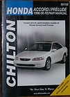 Clinton 30152 Honda Accord/Prelude 1996-2000 Repair Manual. 0801991188. 035675301527. 90000. Covers all U.S. and Canadian models of Honda Accord and Prelude. Includes Wiring and vacuum Diagrams.