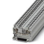 Phoenix Contact 3031212 ST 2,5 Feed-through terminal block 31A Connectable conductor cross section fine-strand without cable end sleeve. 2,5mm. 10 MM. 50 Count. New. 3001792878. 4017918186722.