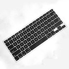 "MacBook Pro 13.3"" Black Silicone Keyboard Cover Skin. New."