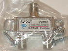 Time Warner Cable SV-2GT Splitter. 5-1002MHz. New.